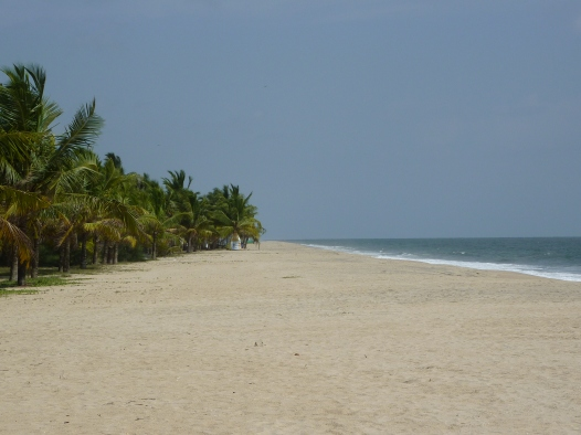 Privat beach Marari - Kerala