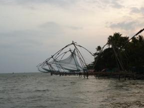 Chinese fishnets Cochin